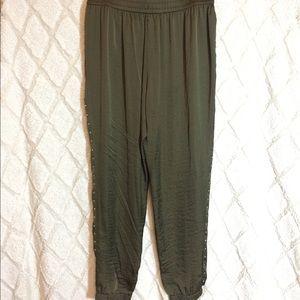 Michael Kors Pants - EUC Michael Kors jogger style silky pants.
